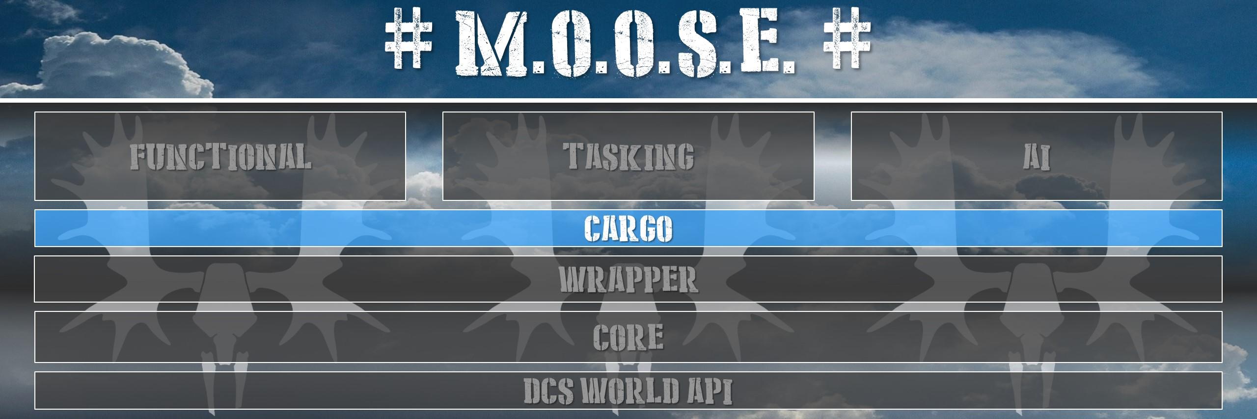 CARGO Guide | M O O S E